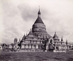 The Kuthodaw Pagoda, [Mandalay]